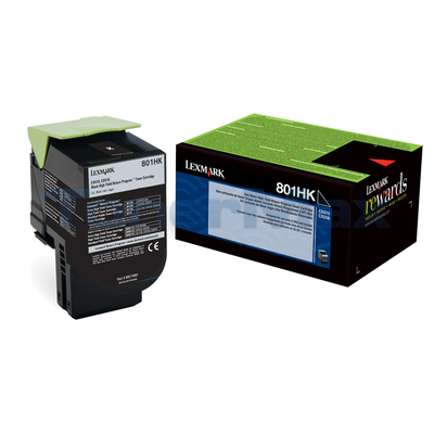 LEXMARK CX510 TONER CARTRIDGE BLACK RP 4K